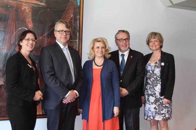 KD eduskuntaryhmä vaalien jälkeen huhtikuussa 2015